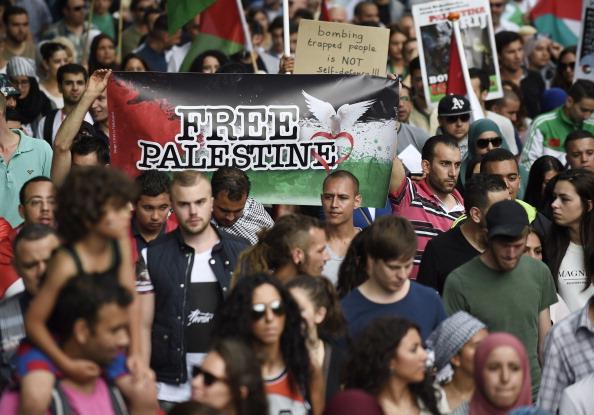 NETHERLANDS-ISRAEL-PALESTINIANS-CONFLICT-GAZA-DEMO